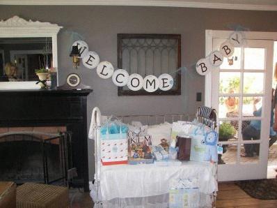 guirlande pour baby shower