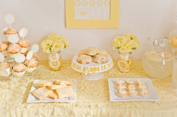 baby shower citron/jaune