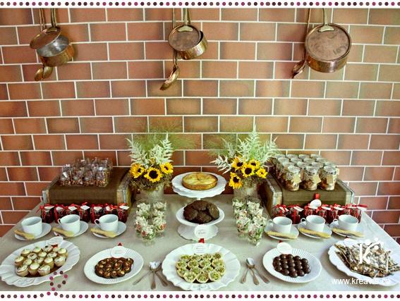 comment r aliser un candy bar une sweet table ou un joli buffet. Black Bedroom Furniture Sets. Home Design Ideas