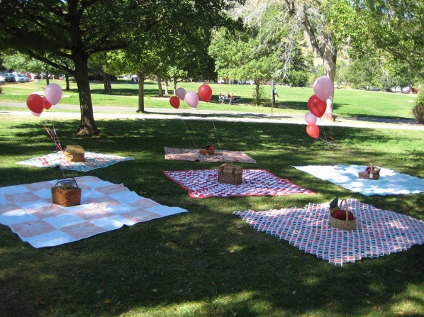 Organiser sa baby shower dans un parc - Organiser barbecue party ...