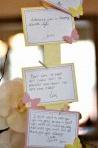 Jolie idée : Une liste de voeux pour bébé