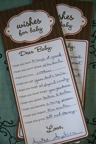 liste voeux bébé