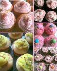 Une sweet table rose et vintage pour un premier anniversaire
