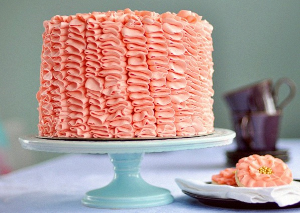 gâteau à froufrous