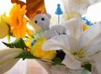Ma Baby shower royale en bleu, jaune et blanc pour un Petit Prince