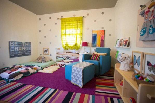 8 chambres de b b d cor es et am nag es selon la p dagogie montessori. Black Bedroom Furniture Sets. Home Design Ideas