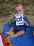 Jolie idée : immortaliser bébé à chaque mois-iversaire, avec Moi par Mois