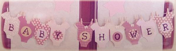 La baby shower diy de marion du rose du gris des moulins vent et un peu de vintage - Guirlande baby shower ...