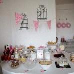 Un joli Brunch pour un 1er anniversaire sur le thème de la fraise