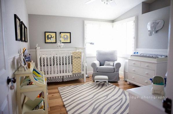 les  themes plus populaires pour decorer une chambre de bebe