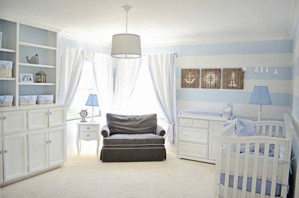 crdit photo project nursery - Chambre Garcon Bord De Mer