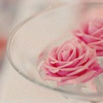 La Baby shower d'Alessia en rose et blanc sur le thème Princesse