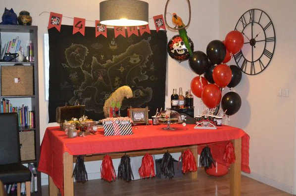 Anniversaire Thème Pirates Pictures to pin on Pinterest