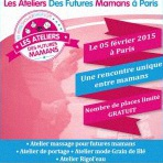 Des ateliers gratuits pour futures mamans à Paris : inscrivez-vous !