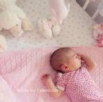 Séance photo nouveau-né : Apolline et sa jolie chambre de bébé