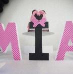 Une sweet table sur le thème Minnie pour les 3 ans de Mia