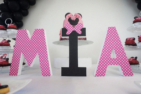 sweet table Minnie anniversaire minnie