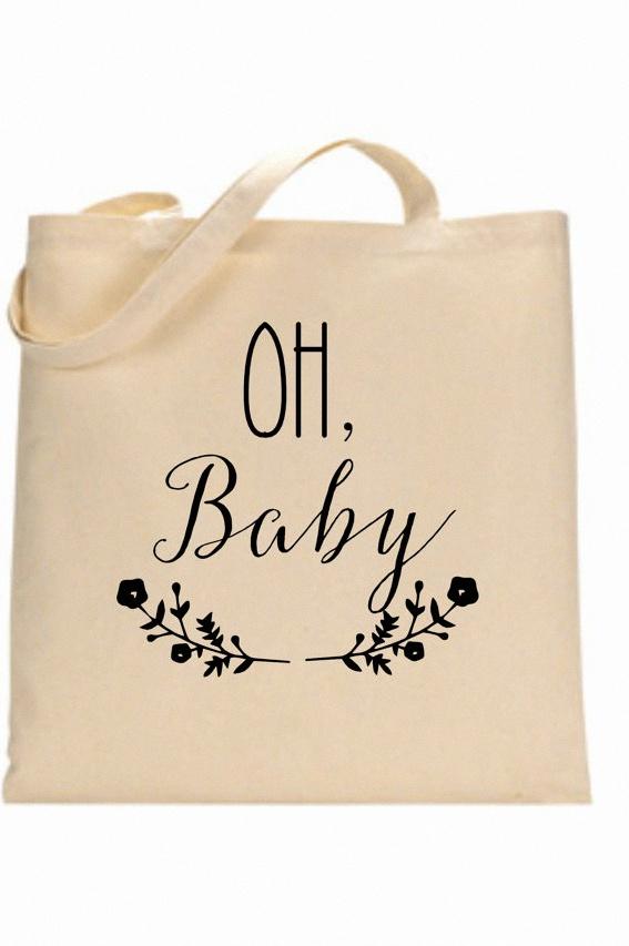 tote bag personnalisé naissance baby shower