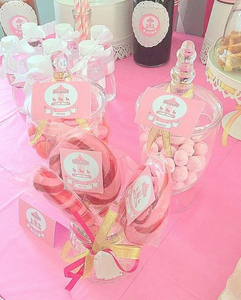 anniversaire sweet table fete foraine