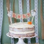 Gâteau tendance : un Naked Cake pour une Baby shower ?