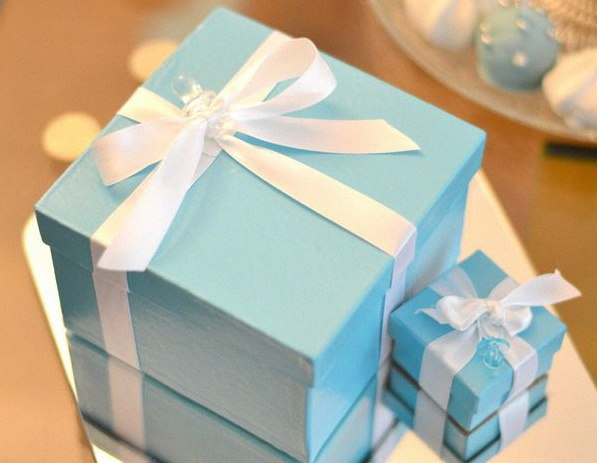 cadeau baby shower tiffany & co