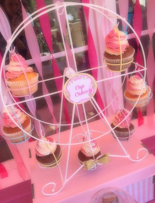 cupcake fête foraine