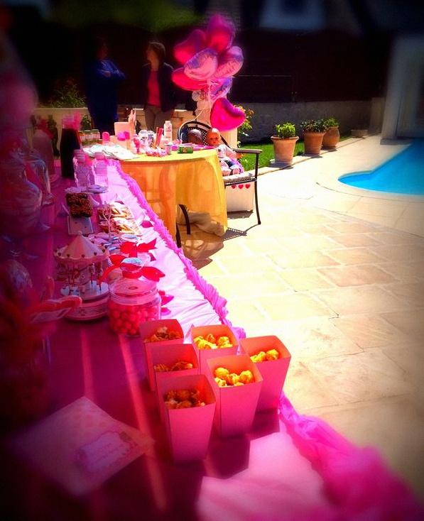 baby shower fête foraine