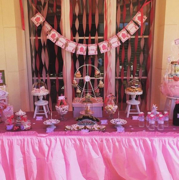 baby shower fête foraine