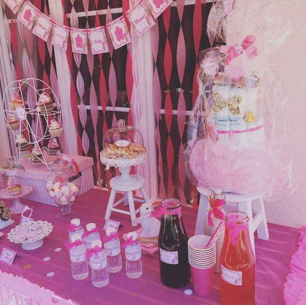 sweet table fête foraine