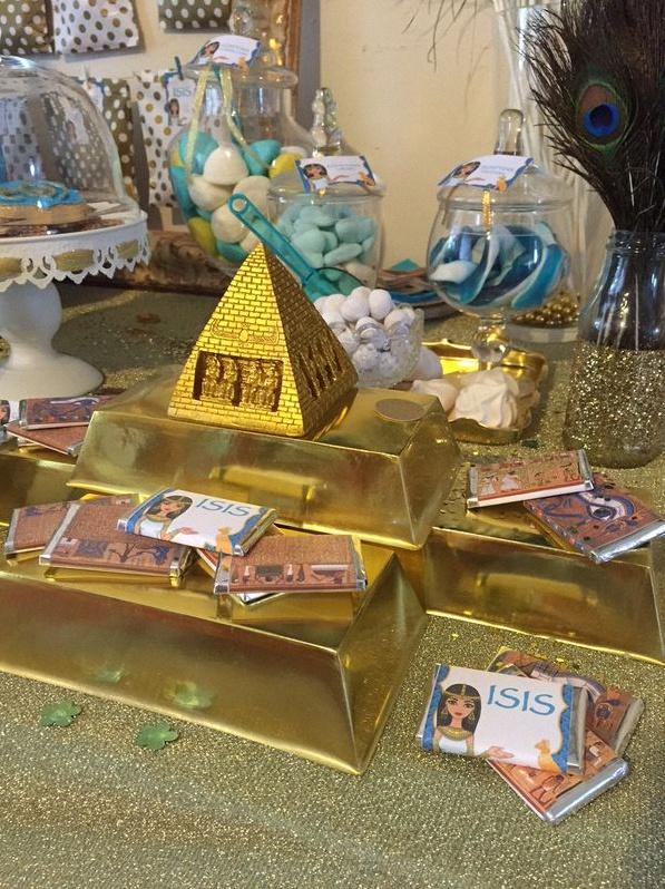 anniversaire thème égypte