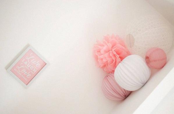 décoration chambre enfant rose