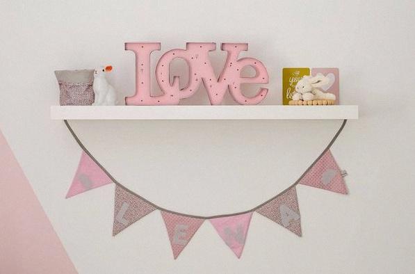 guirlande banderole chambre bébé