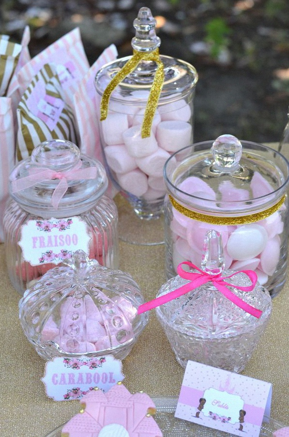 sweet table anniversaire princesse