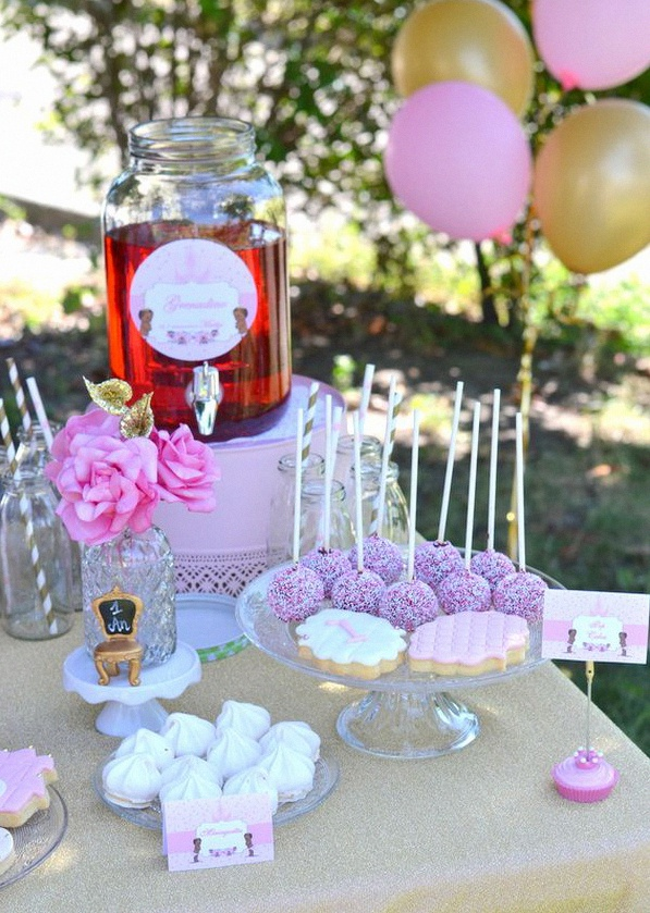 garden party anniversaire princesse