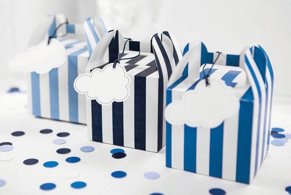 décoration baby shower anniversaire avion rétro petit aviateur