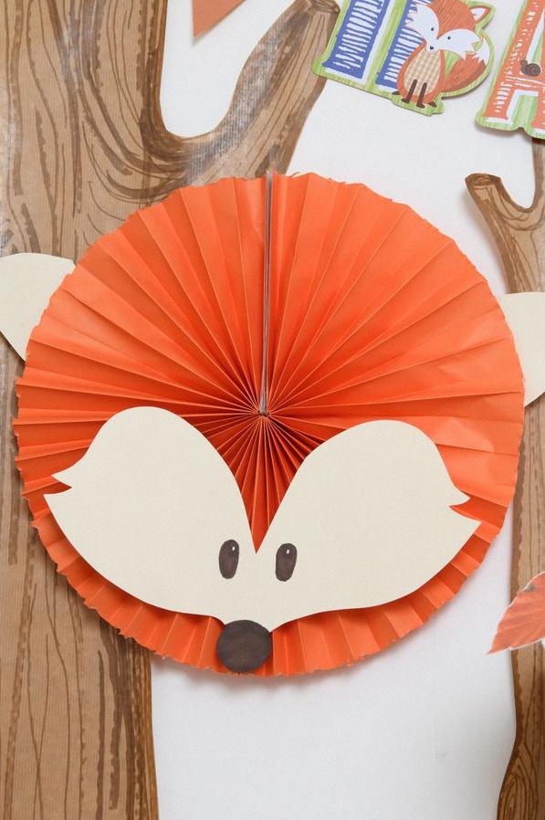 décoration renard