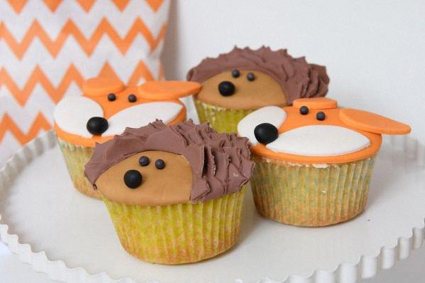 cupcake animaux