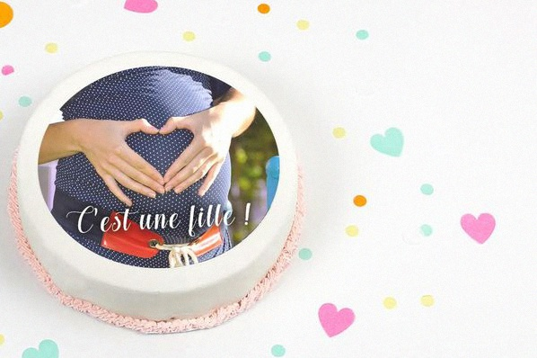 gateau baby shower facile