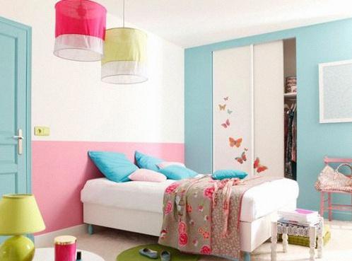 peinture 10 jolies id es pour d corer une chambre de b b ou d 39 enfant. Black Bedroom Furniture Sets. Home Design Ideas