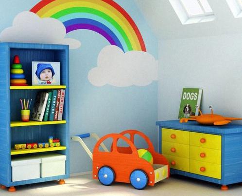 Peinture : 10 jolies idées pour décorer une chambre de bébé ...