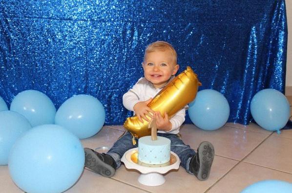 photos anniversaire petit prince bleu royal doré