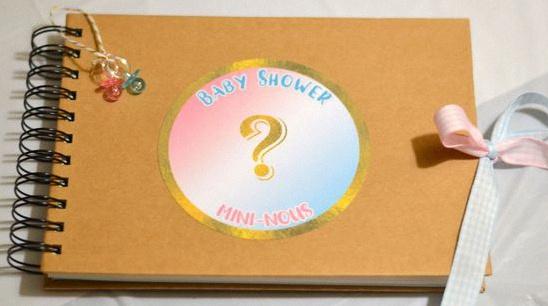 baby shower gender reveal party bleu rose