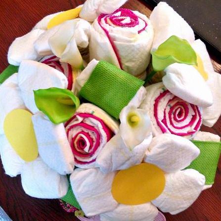 bouquet de couches