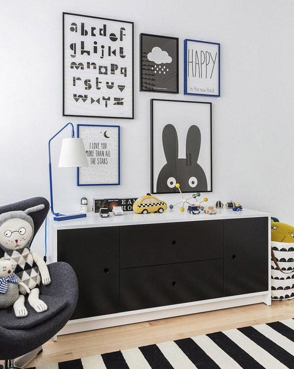 chambre d'enfant art montessori