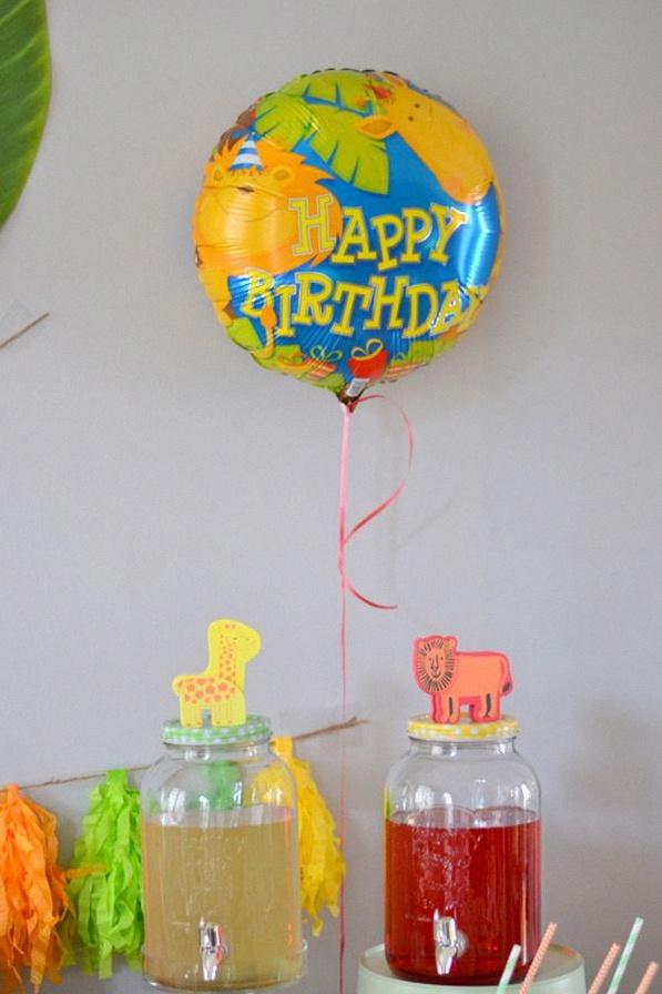 décoration anniversaire animaux de la jungle sweet table animaux de la jungle