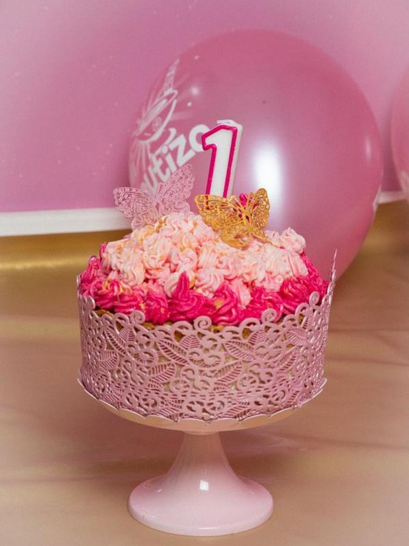 séance photo Smash the cake gateau 1 an