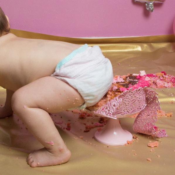 séance photo Smash the cake