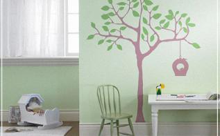 9 idées déco pour une chambre de bébé ou d'enfant nature