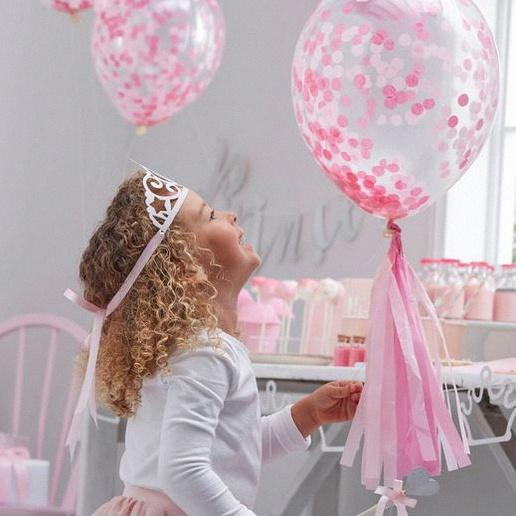 ballon confettis