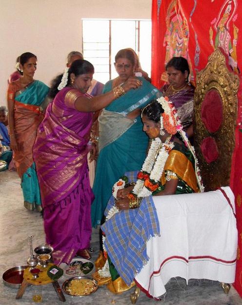 cérémonie des bracelets inde